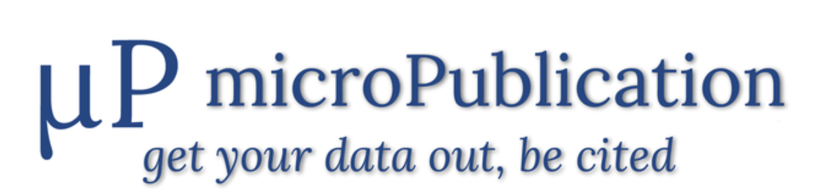 microPublication Biology – get your data out, be cited
